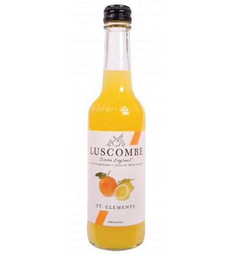 Refresco de naranja y limón con gas  32 cl