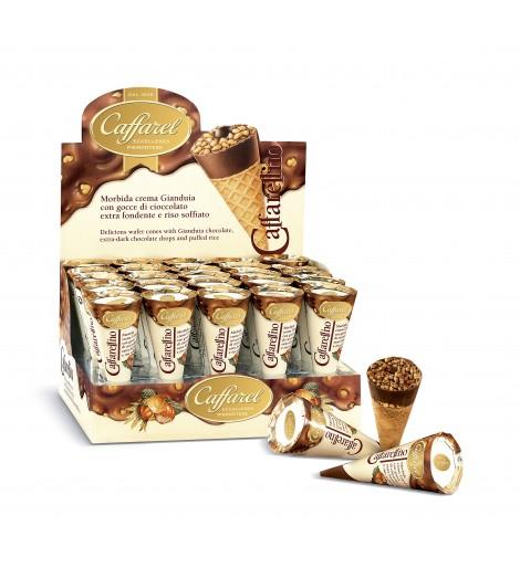 Caffarellino de chocolate con leche 24 conos