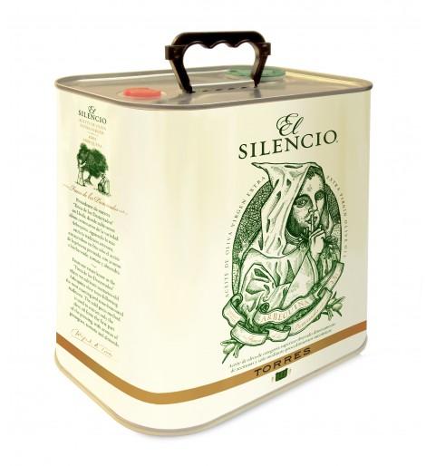El Silencio. Aceite de oliva  virgen extra arbequina | Lata 2016 - 2,5 lt