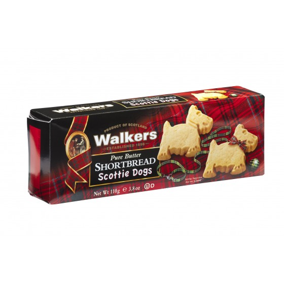 Shortbread Scottie dogs 110 gr