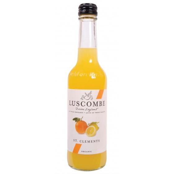 St. Clemente. Refresco de naranja y limón con gas BIO  32 cl