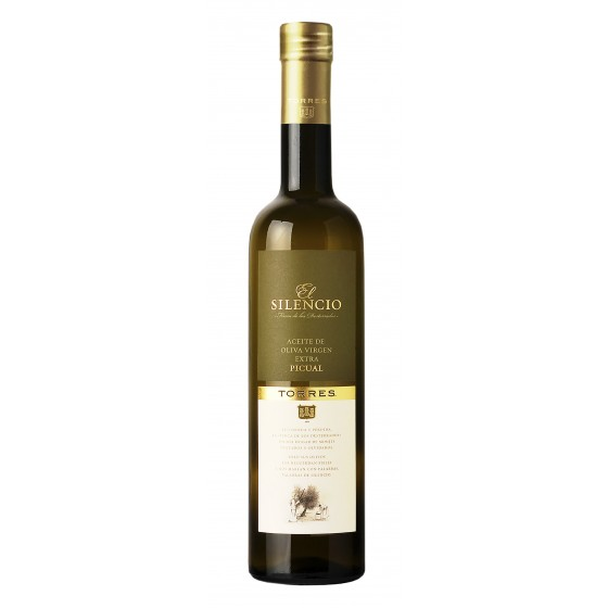 El Silencio | Aceite de oliva virgen extra picual 2016 - 50 cl