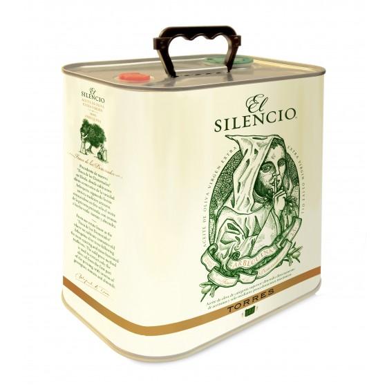 El Silencio | Aceite de oliva  virgen extra arbequina | Lata 2016 - 2,5 lt