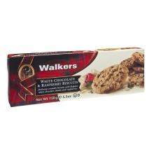 Biscuits con trozos de chocolate blanco y frambuesa 150 gr