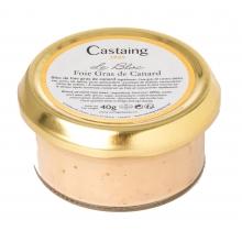 Bloc de foie gras de pato 40 gr