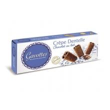 Crêpe Dentelle recubiertos de chocolate con leche 90 gr