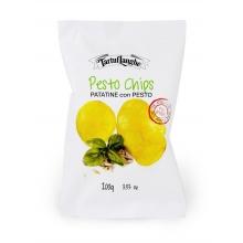 Chips - Patatas con pesto 100 gr.